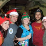 Last year's Christmas staff. Who will be here this year? Stop by and wish us merry!